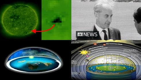 Исполинские НЛО возле Солнца объясняет профессор из 1965-го года.