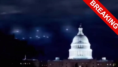 НЛО над Вашингтоном вызвал эвакуацию Белого дома.