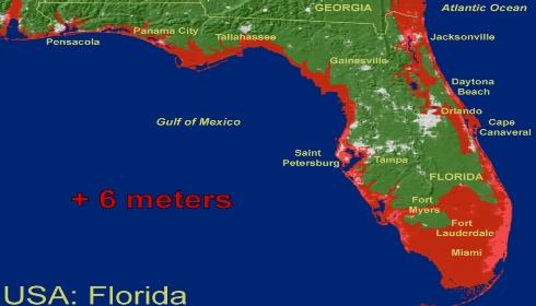 Скоро Флорида будет как Атлантида. И не только Флорида.