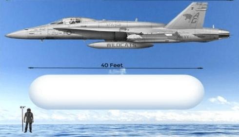 Летающие блюдца сменяет Tic Tac - новый тип кораблей инопланетян.