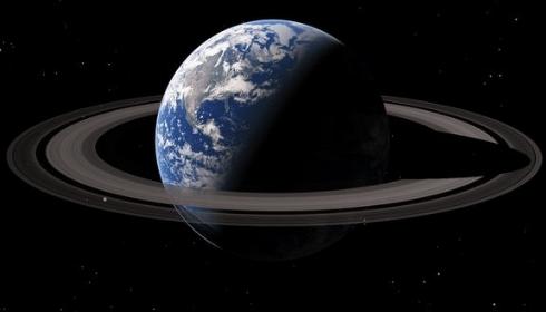 Земля давно превратилась в Сатурн, но земляне пока про это не знают.