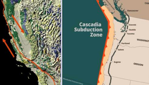 Сан-Андреас и зона субдукции Каскадия - это один разлом?