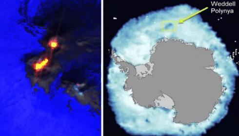 Этна усилила извержение, Гренландия и Южный Океан тают. Пророчества Кейси сбываются.