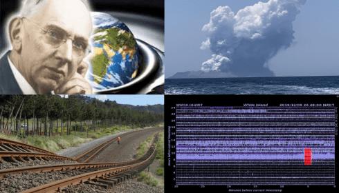 В Новой Зеландии взорвался вулкан. Приближается сдвиг полюсов Земли.