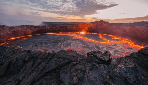 В районе Африки может появиться очень большой вулкан.