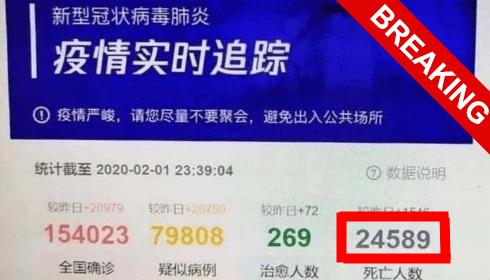 Китайский коронавирус может помочь выявить рептилоидов TheBigTheOne.com_2122