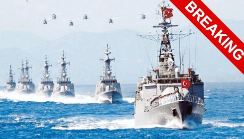 Турция подняла по тревоге ВЕСЬ свой флот. - THE BIG THE ONE